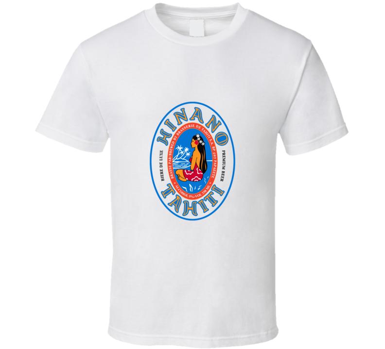 Hinano Tahiti beer T Shirt