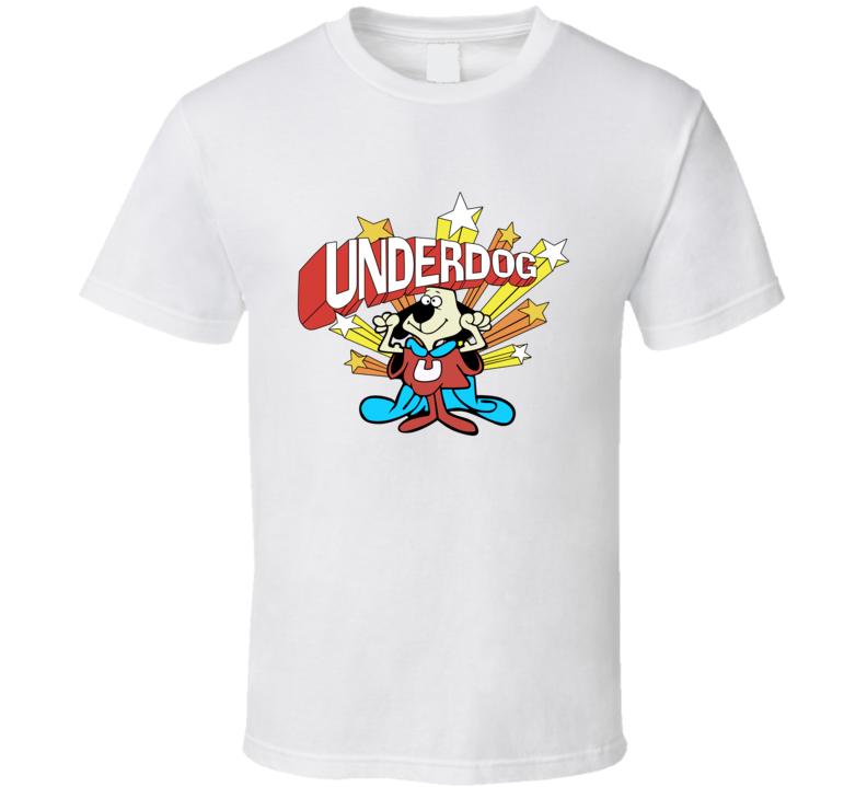 Vintage 90s Underdog Cartoon T Shirt