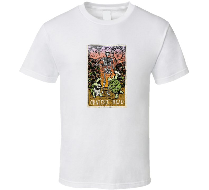 Grateful Dead Tarot Card Girls T Shirt