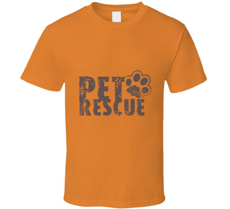 Pet Rescue Paw T Shirt
