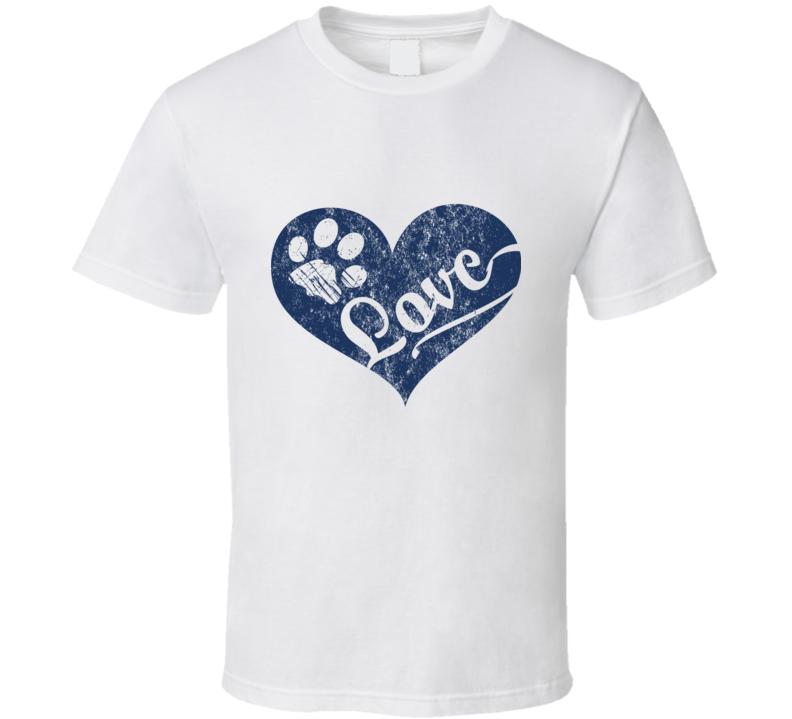 Love Paws T Shirt