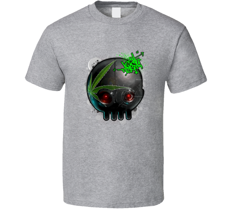 kush-dynasty-league-black-robot-head T Shirt