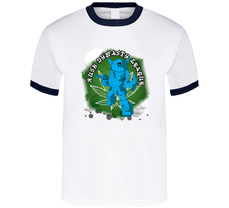 kush-dynasty-league-blue-robot T Shirt