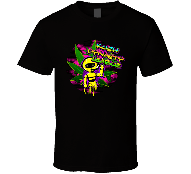 kush-dynasty-league-dripping-robot T Shirt