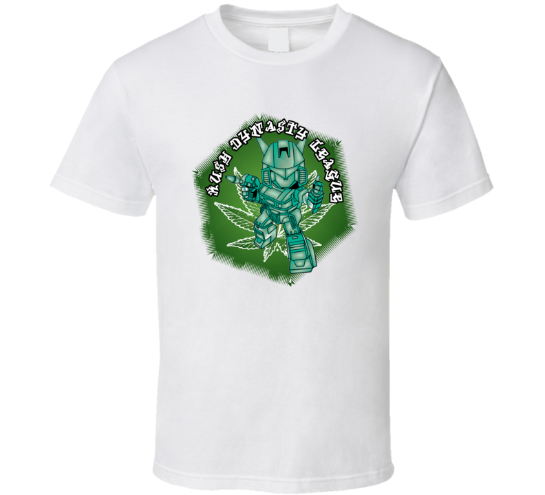 kush-dynasty-league-green-robot T Shirt