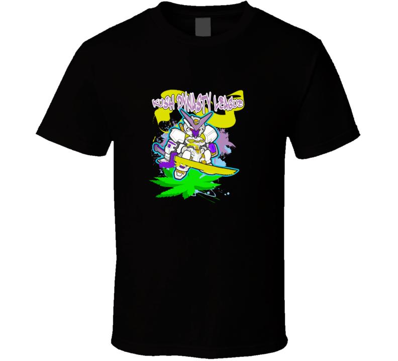 kush-dynasty-league-sword-robot T Shirt