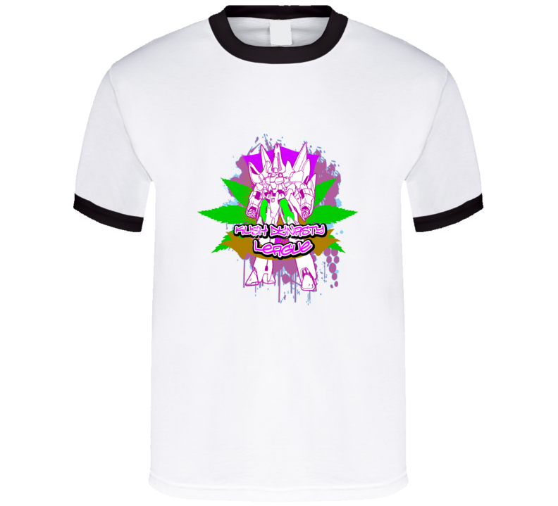 kush-dynasty-league-winged-robot T Shirt