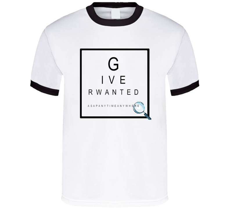 giver-wanted-anytime T Shirt