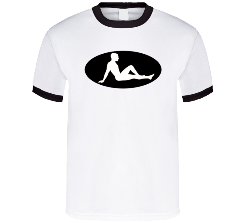 naked-guy-mud-flap-design T Shirt