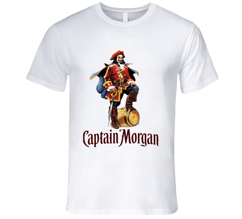 Rum Captain Morgan Spiced Rum Liquor Booze T Shirt