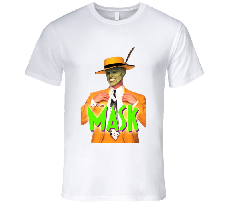 Jim Carrey Girlfriend The Mask Movie T Shirt