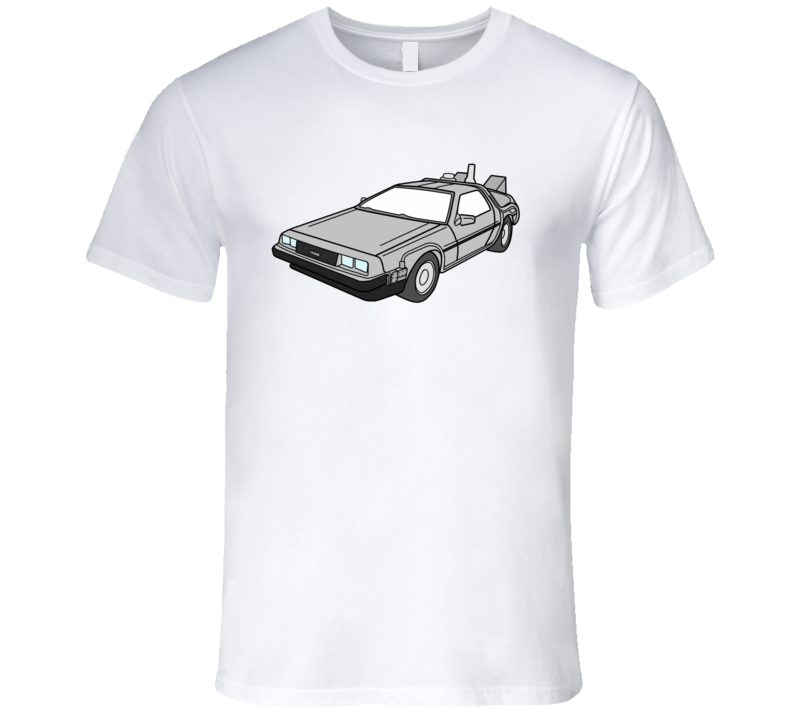 Delorean Marty McFly Back To The Future Movie T Shirt