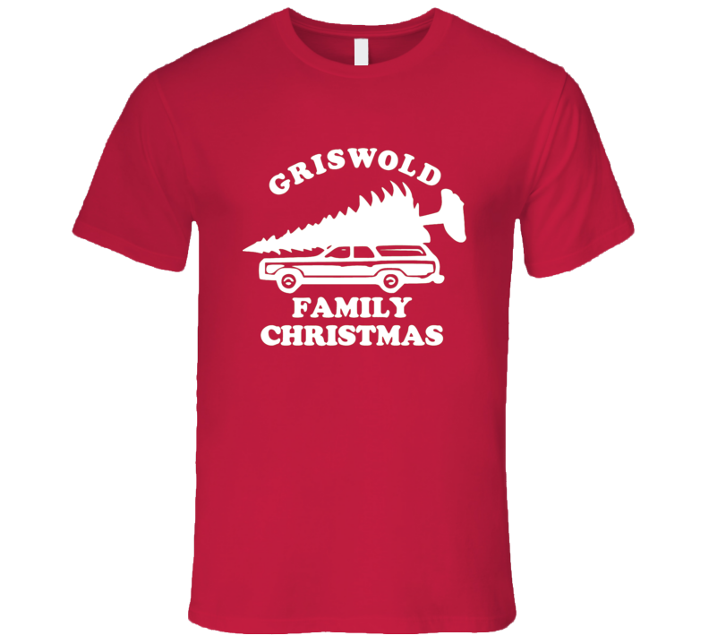 Griswold Family Christmas Funny Car Tree Ugly Christmas Sweater T Shirt