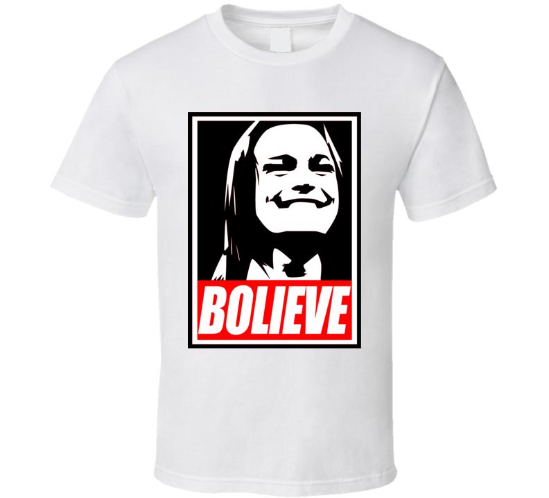 Bolieve Bo Dallas WWE Wrestling Fan Flo Rida T Shirt