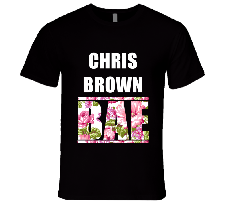 CHRIS BROWN Before Anyone Else Bae Fan Rap Hip Hop Rapper Gangster T Shirt