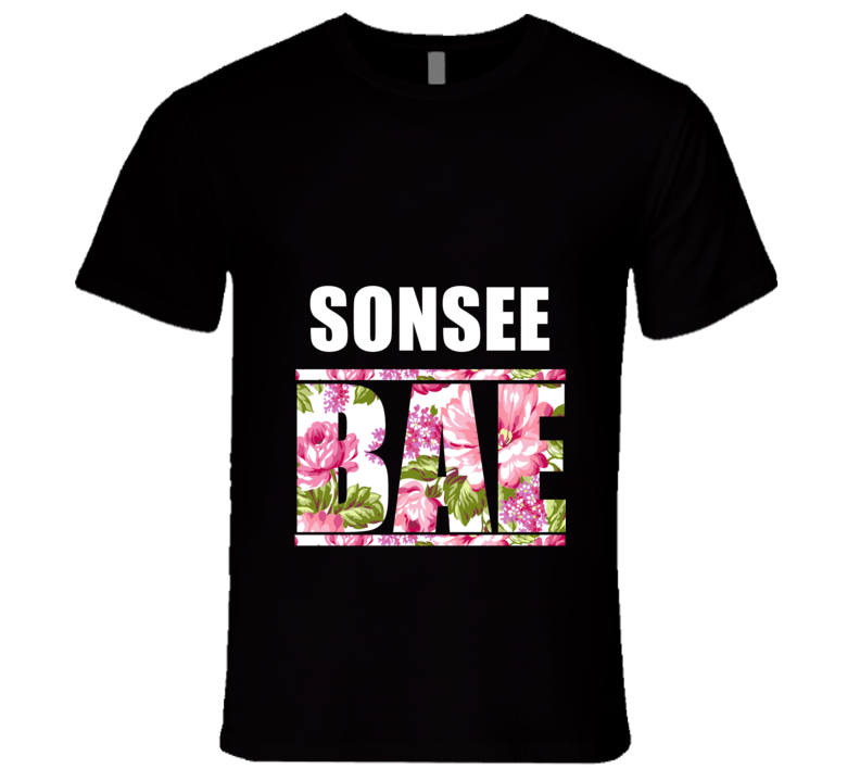 SONSEE Before Anyone Else Bae Fan Rap Hip Hop Rapper Gangster T Shirt