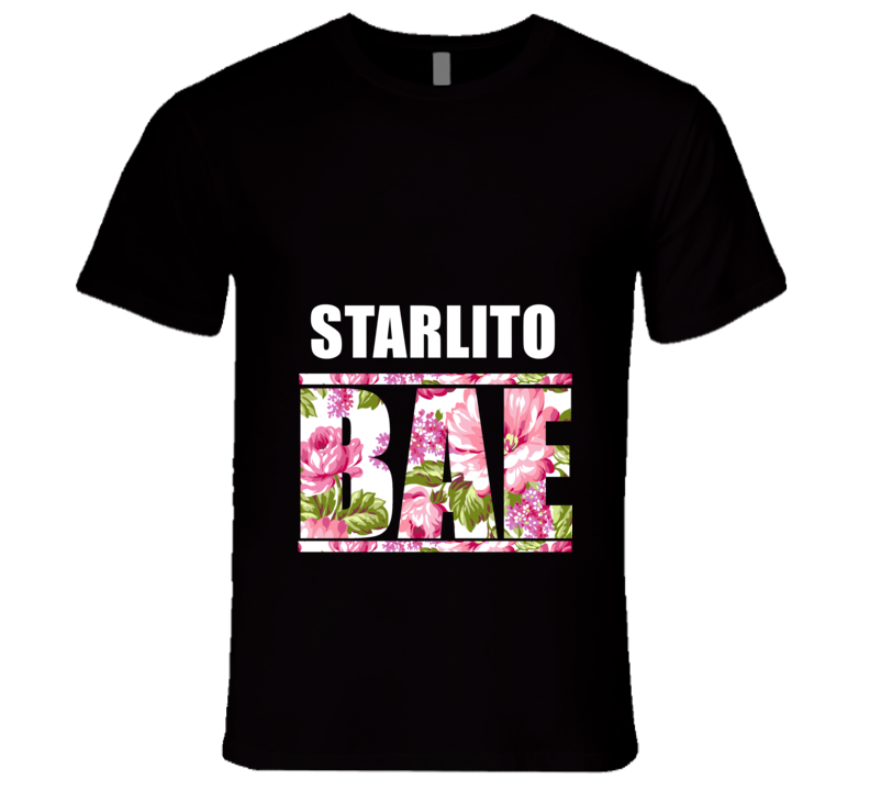 STARLITO Before Anyone Else Bae Fan Rap Hip Hop Rapper Gangster T Shirt