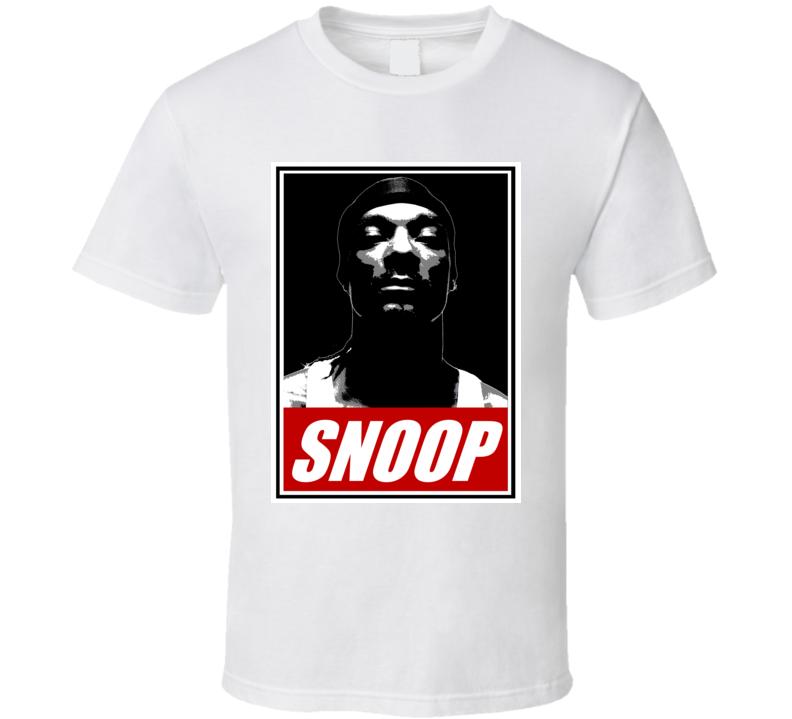 Snoop Dogg Rapper Rap Hip Hop Music Fan T Shirt