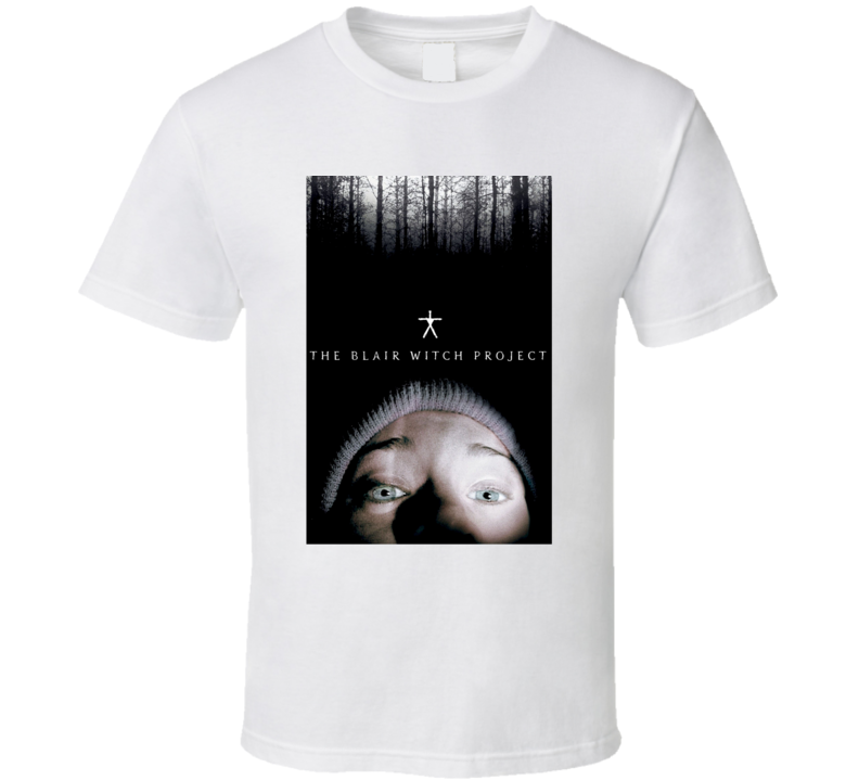 The Blair Witch Project 1999 Original Poster Scary Movie Fan  T Shirt