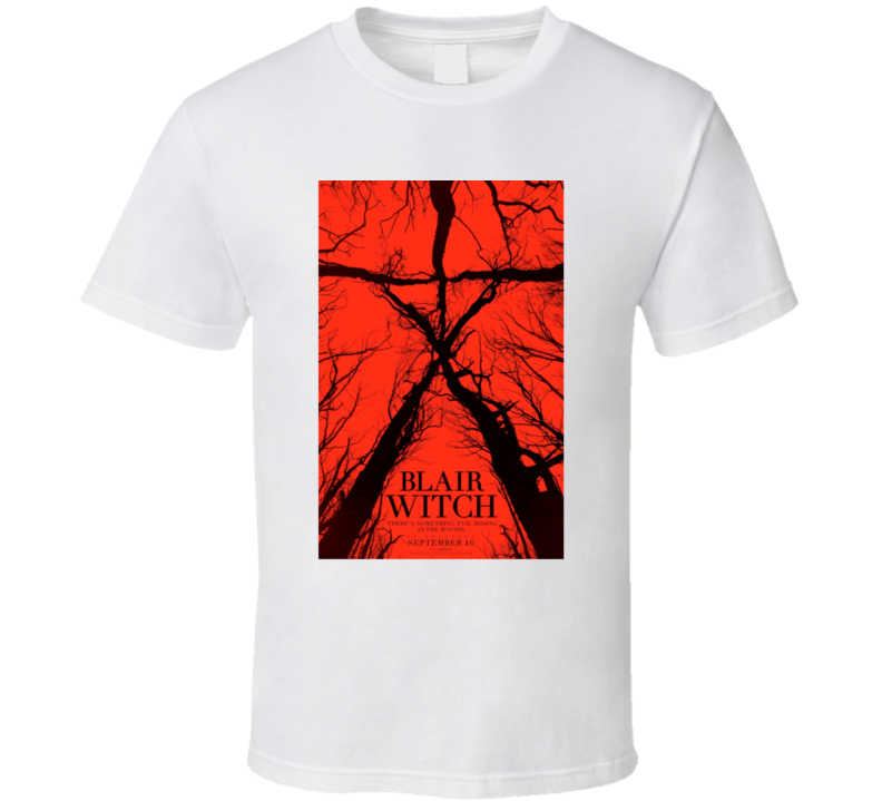 Blair Witch New 2016 The Blair Witch Project Scary Movie Horror Fan T Shirt
