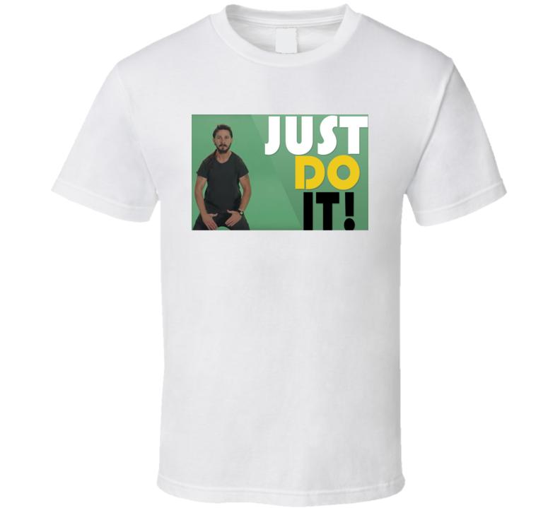Shia Just Do It Video T Shirt