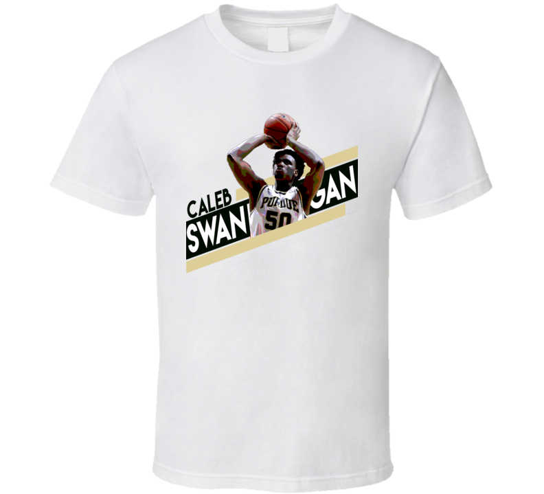 Caleb Swanigan College University Basketball Purdue March Madness T Shirt
