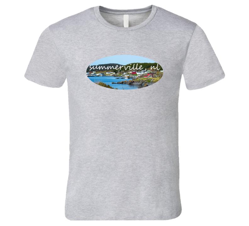 Summerville Newfoundland Round Da Bay T Shirt