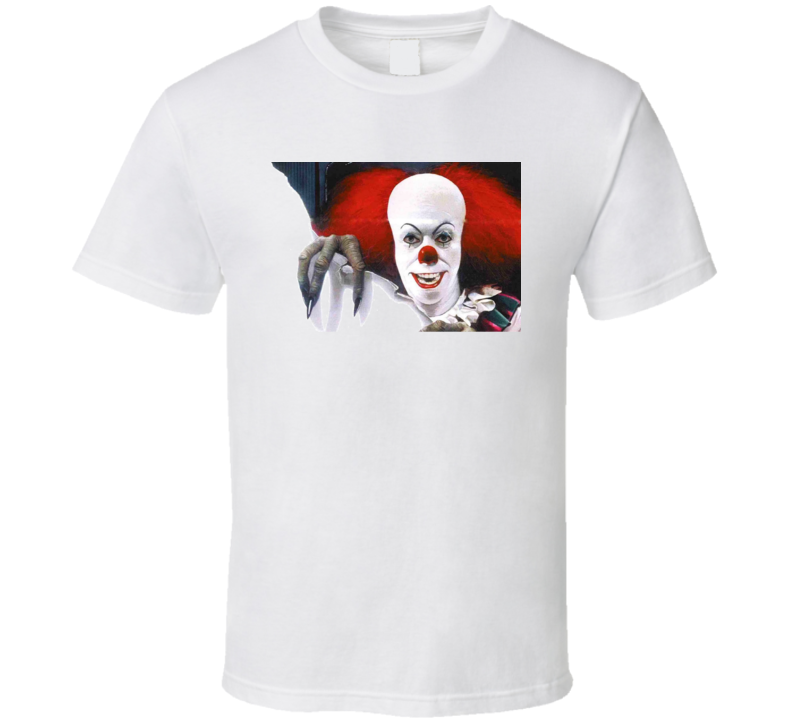 It Clown Movie Pennywise Scary Georgie T Shirt