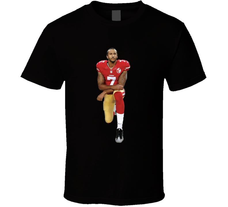 Colin Kaepernick Kneel Kneeling Football T Shirt