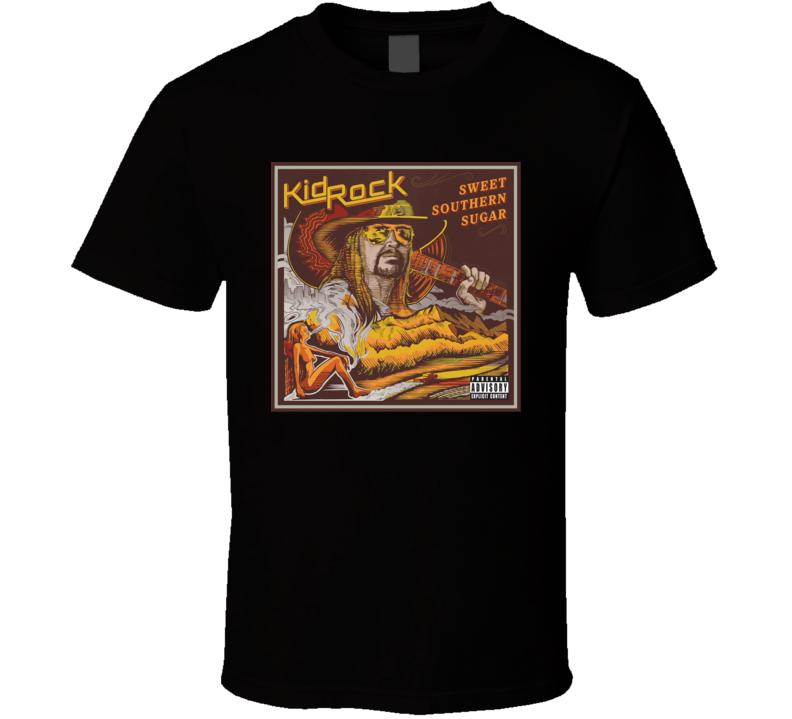 Kid Rock Sweet Southern Sugar Best Show Ever Tour T Shirt