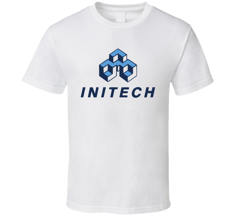 Initech Logo Office Space Movie T Shirt