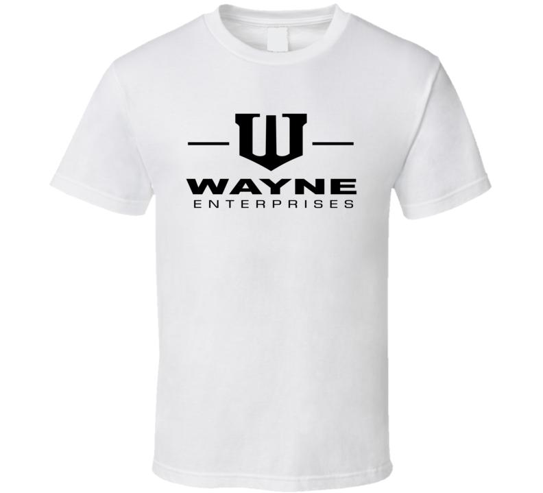 Wayne Enterprises Logo Batman T Shirt