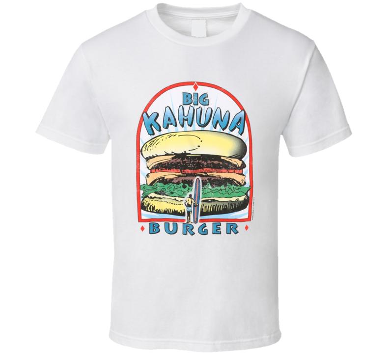 Big Kahuna Burger Logo Pulp Fiction T Shirt