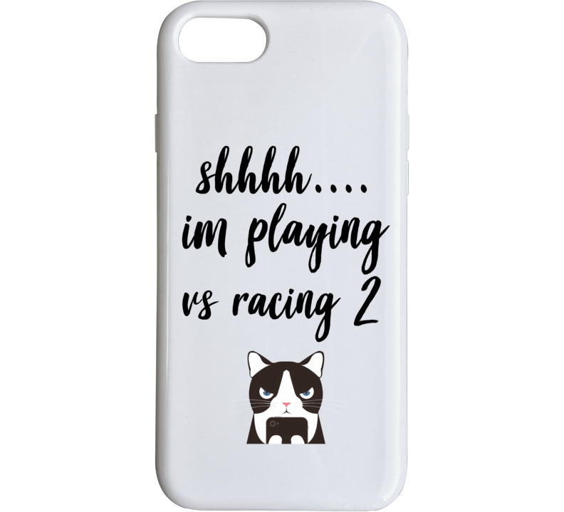 Vs Racing 2 Shh Im Playing Games Phone Case