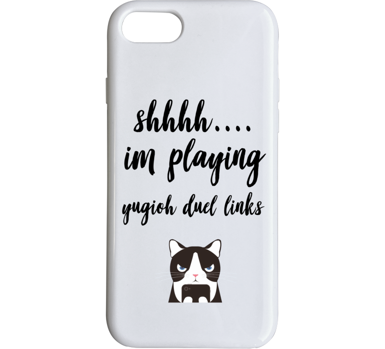Yugioh Duel Links Shh Im Playing Games Phone Case