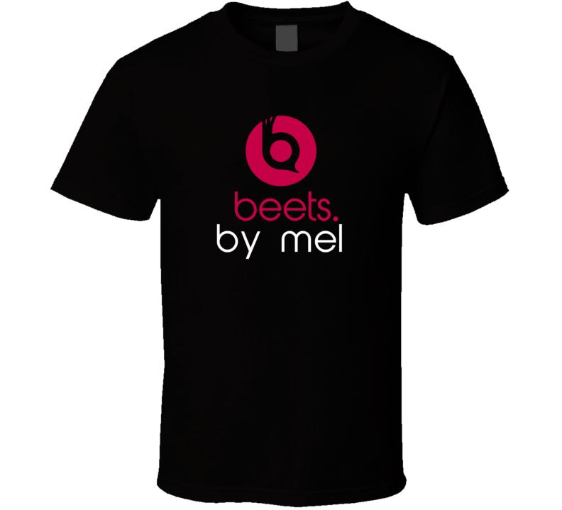 Beets By Mel Funny Beats Headphone Parody Tv Character Fan T Shirt