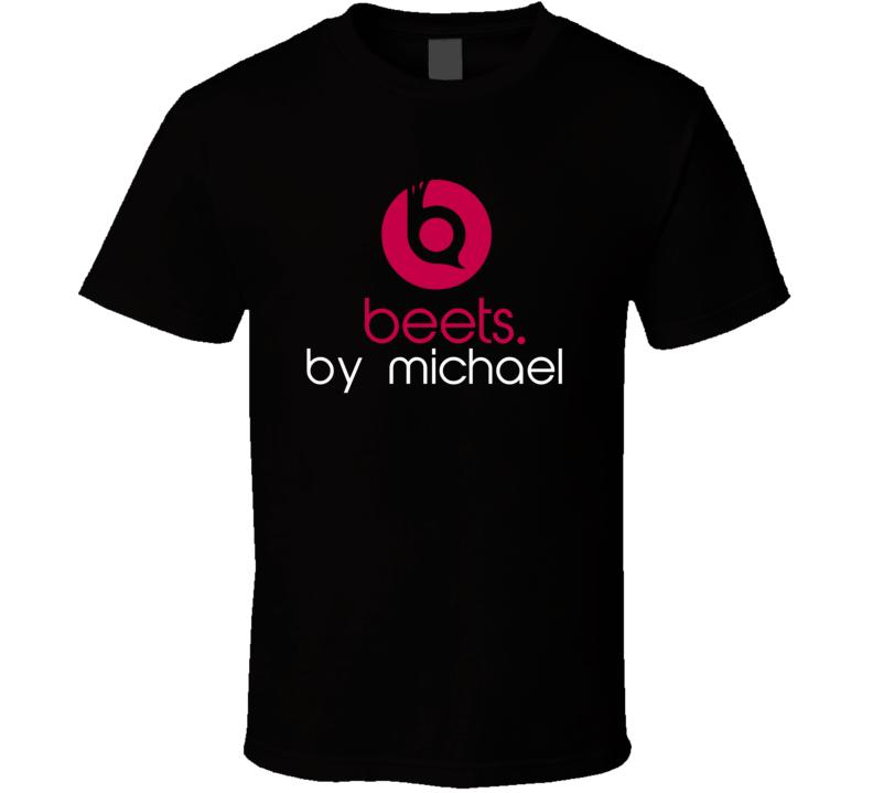 Beets By Michael Funny Beats Headphone Parody Tv Character Fan T Shirt