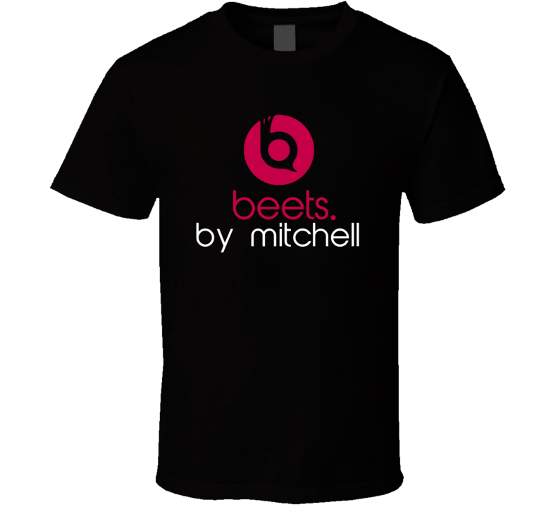 Beets By Mitchell Funny Beats Headphone Parody Tv Character Fan T Shirt