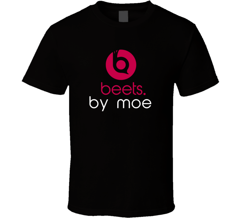 Beets By Moe Funny Beats Headphone Parody Tv Character Fan T Shirt