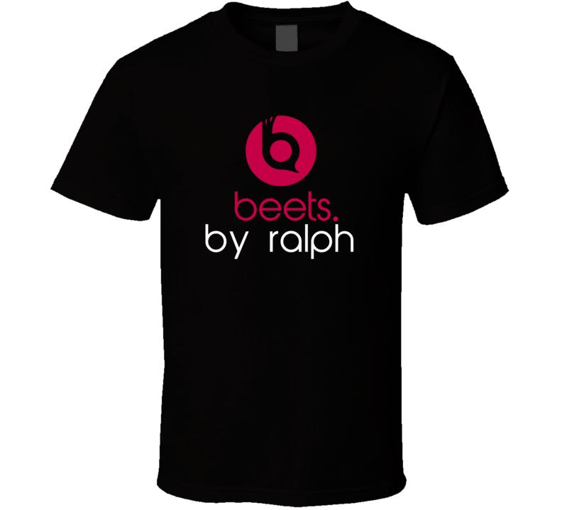 Beets By Ralph Funny Beats Headphone Parody Tv Character Fan T Shirt