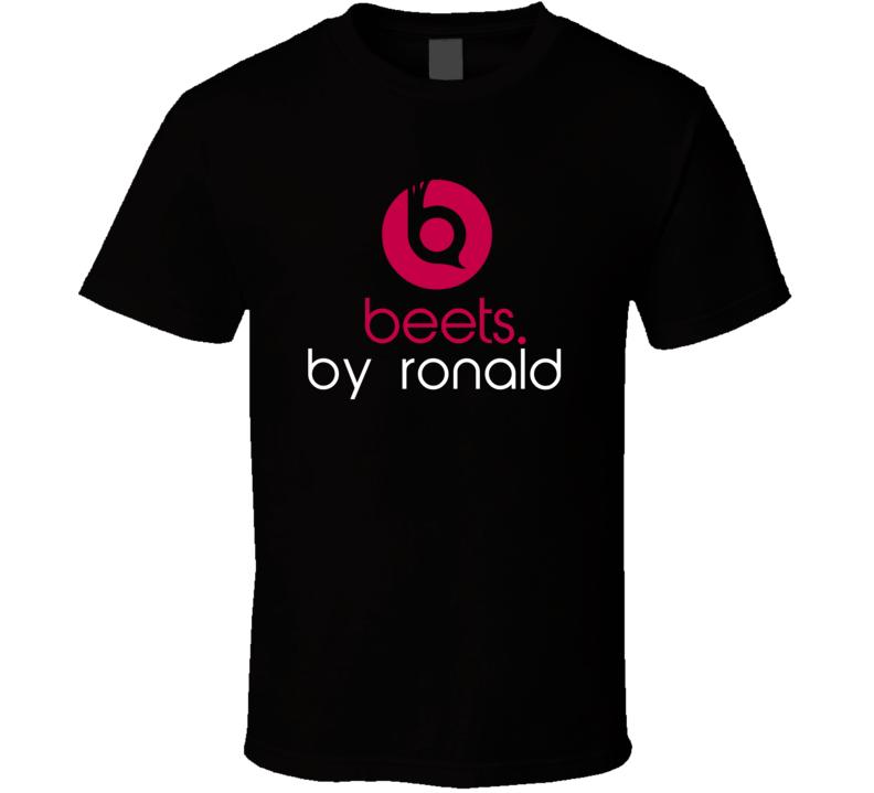 Beets By Ronald Funny Beats Headphone Parody Tv Character Fan T Shirt