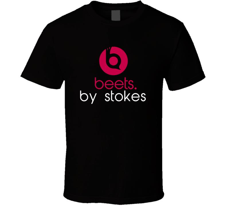 Beets By Stokes Funny Beats Headphone Parody Tv Character Fan T Shirt