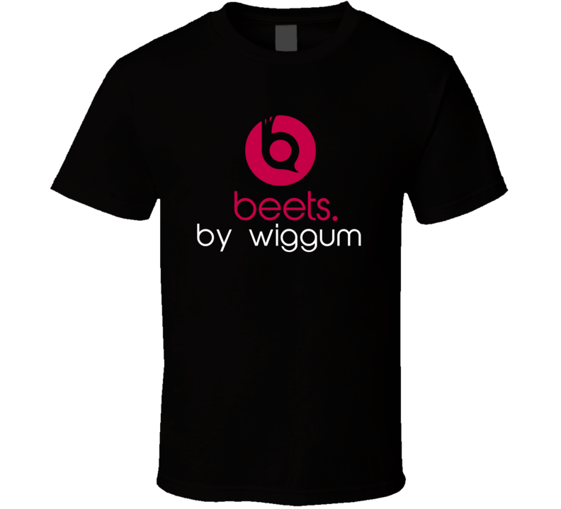 Beets By Wiggum Funny Beats Headphone Parody Tv Character Fan T Shirt