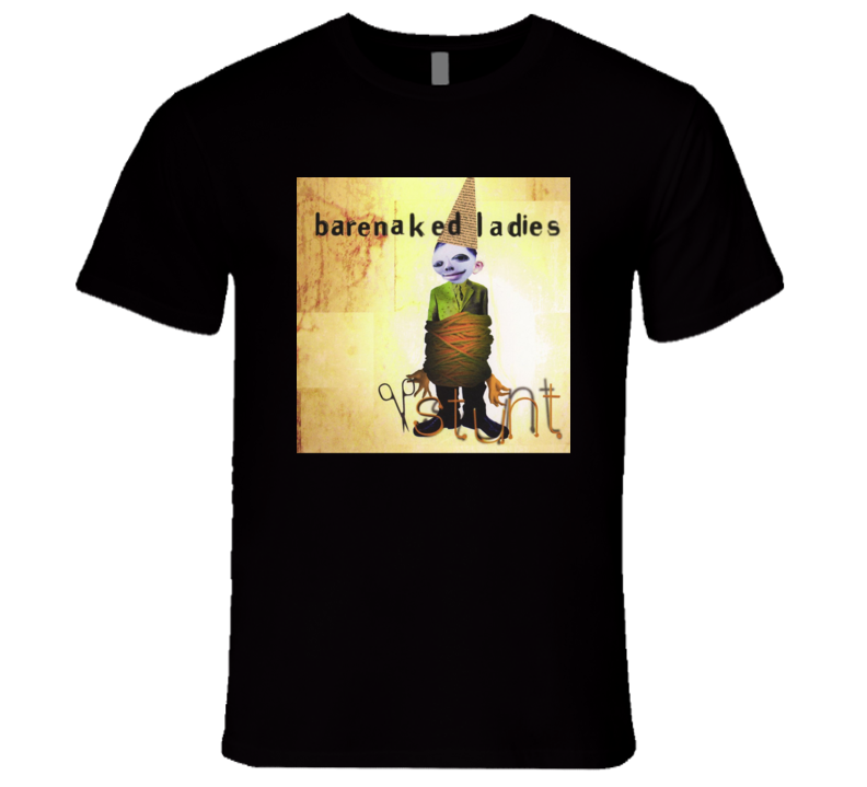 Barenaked Ladies Stunt Album Cover T Shirt