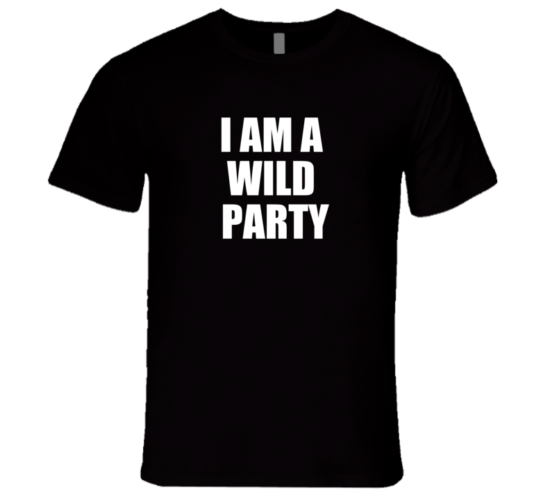 I Am A Wild Party Kim Mitchell T Shirt