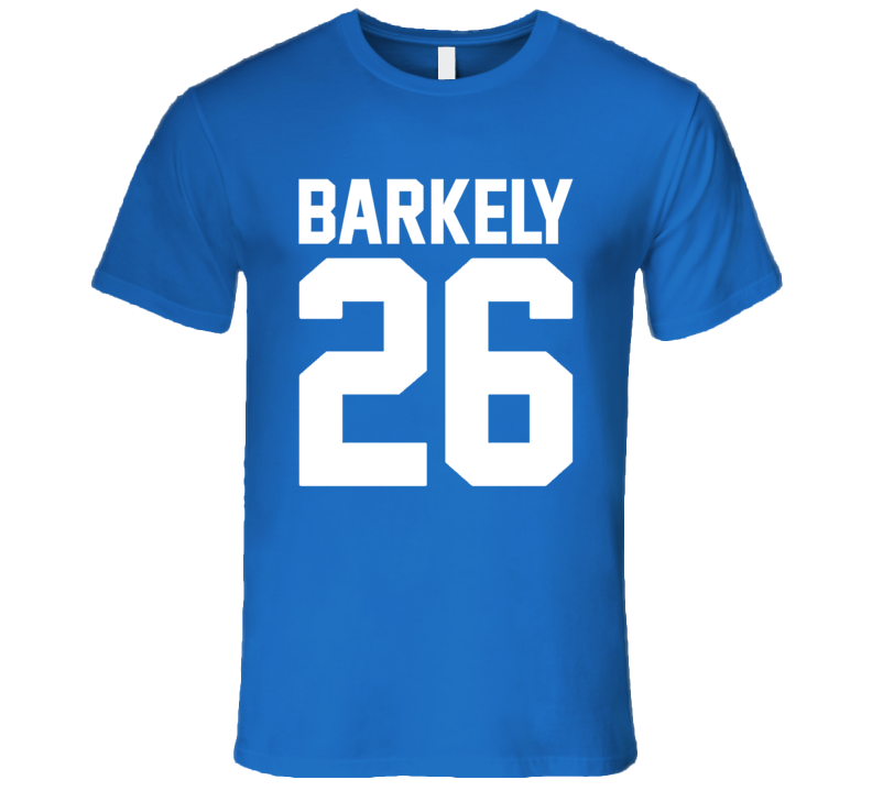 New York Football Saquon Barkley Fan 26 T Shirt