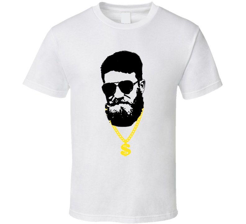 Ryan Fitzpatrick Fitzmagic Chain Interview Tampa Bay Football T Shirt