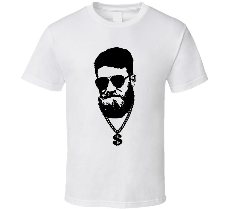 Ryan Fitzpatrick Fitzmagic Chain Glasses Tampa Bay Football T Shirt