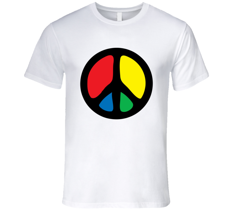 Peace Woodstock T Shirt