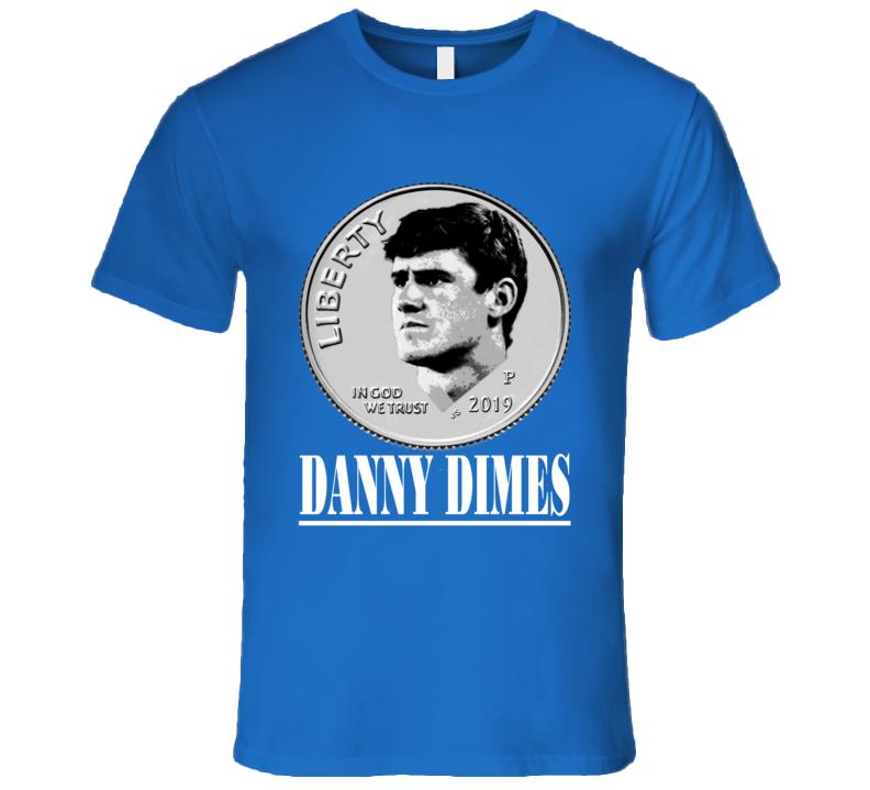 Danny Dimes Daniel Jones New York Football T Shirt